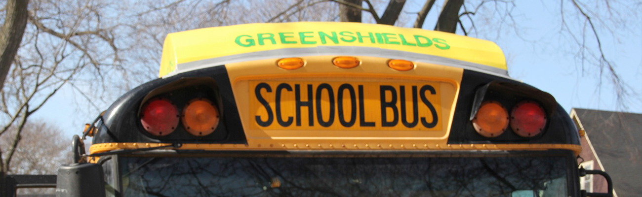 The GreenShield V4 on top of a bus